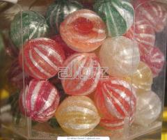 Candies lollipops