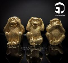 Сувенир «Три обезьянки»