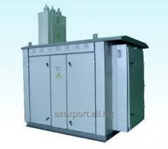 CTS(Compele Transformer Substation) 25 - 1000 kVA ;(6)10/0,4 kV