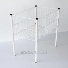 Sipermarket Storage Metal Wire Basket 630х800х410 2 level