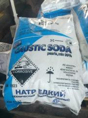 Caustic soda flakes (sodium hydroxide flakes)
