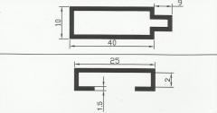 Рамочный алюминиевый профиль
