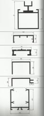 Алюминиевый профиль для фасадов (Cəbhə profilləri)