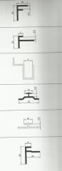 Профильные системы алюминиевые (alkopan profilləri)