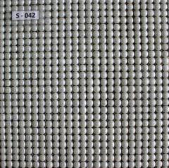 Стеклянная мозаика S-042 İnci mozaika (Türk) bəyaz