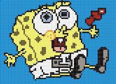 Панно из мозаики Dekor Sponge Bob