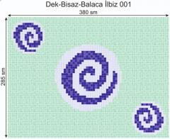 Дизайнерский декор Dek-Bisaz-Balaca İlbiz-001