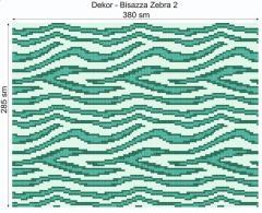 Дизайнерский декор Dek-Bisaz-Zebra-002