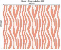 Дизайнерский декор Dek-Bisaz-Zebra-003