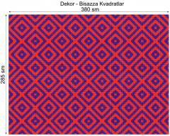 Дизайнерский декор Dek-Bisaz-Kvadratlar-001
