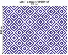 Дизайнерский декор Dek-Bisaz-Kvadratlar-004