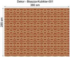 Дизайнерский декор Dek-Bisaz-Kubiklər-001