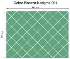 Дизайнерский декор Dek-Bisaz-Kəsişmə-001