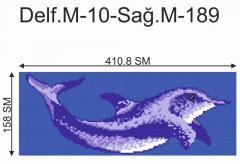 Декор для бассейна Delf.M-10-Sağ.M-189