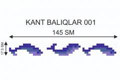 Мозаичный кант Kant-Balıqlar-001