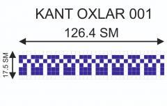 Мозаичный кант Kant-Oxlar-001