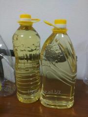 Подсолночное масло рафинирование