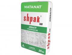 SHPAK 500 Алебастр cтроительный гипс