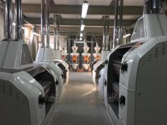 Мукомольно-крупяной комплекс 120 тонн в сутки Албания