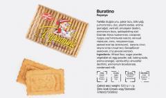"""Печенье """"Buratino"""" (12*520 QR)"""