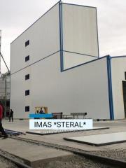 Комбикормовый завод производительностью 10 тонн в