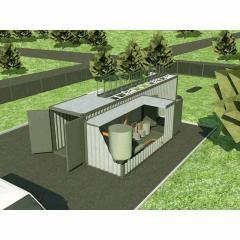 Çirkab sularının təmizlənməsi - Konteyner tipli təmizləmə sistemi