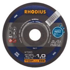 Rhodius kəsmə daşı  metal 125x1,0 top