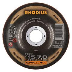 Rhodius yonma daşı metal 115x7.0