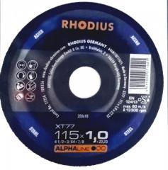 Rhodius kəsmə daşı  metal  115x1, 0 pro