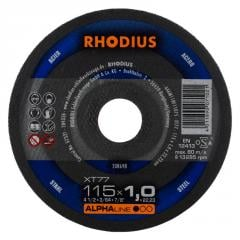 Rhodius kəsmə daşı metal 115x1, 0 alfa