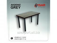 AKDENIZ GREY Металлические стол