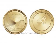 Золотая монета - Центр Гейдара Алиева