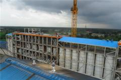 Монтаж мельничного комплекса Halis Un Турция г. Газиантеп