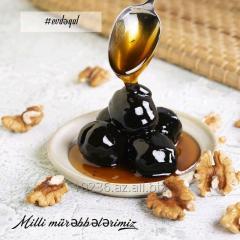 Варенье из черного грецкого ореха