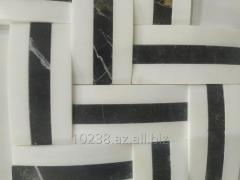 Dekorativ daşlar (travertin)