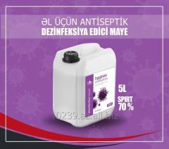 Əl üçün antiseptik dezinfeksiya edici maye
