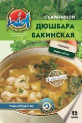 Дюшбара Бакинская, суп быстрого приготовления, с