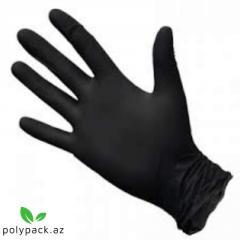 Перчатка нитриловая.