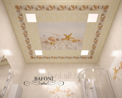 Suspended ceilings of Bafoni with drawing of any