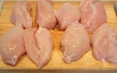 Грудки куриные