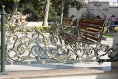 Решетки и ограждения ворот