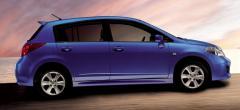 Автомобили легковые купе Tiida Hatchback