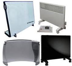 Бытовые приборы для отопления.
