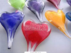 Изделия стеклянные ручной работы