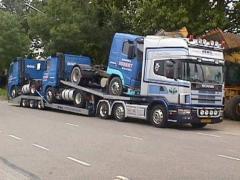 Полуприцепы для перевозки грузовых автомобилей