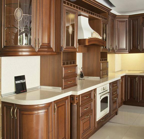 Classical kitchen furniture of donatella korona buy in baku.