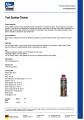 Yanacaq sistem təmizləyici (benzin) 300 ml