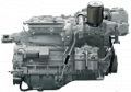Ship D2866LXE 40 engine