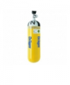 Cylinders with compressed air for breath of Drager