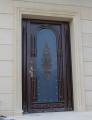 Двери входные с элементами ковки